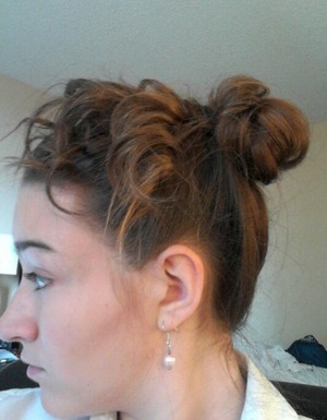 Really easy, simple updo