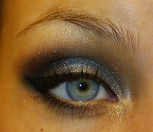 using gunmetal, naked, buck, virgin, creep and half baked 