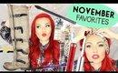 November Favorites 2015 (Christmas Gift Ideas?!)