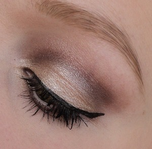 just a simpel daily look using the mua heaven& earth palette.