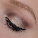 Daily look shimmery version