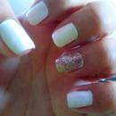 white confetti