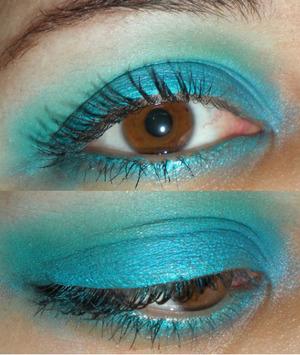 Eyes: Blue Green Sugarpill Blend