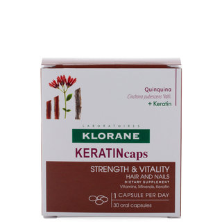 Keratin Caps Hair and Nails Dietary Supplements