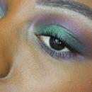 Green + Purple