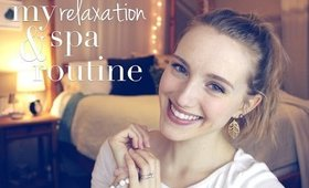My Natural Relaxation & Spa Routine   Collab with Chemical Detox