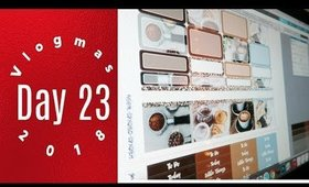 Vlogmas 23: Errands and Sticker work day | Grace Go