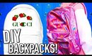 DIY Backpacks for Back to School 2017!