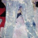 DIY Tie Dye Ripped Jeans