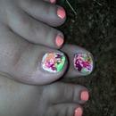 splatter toes