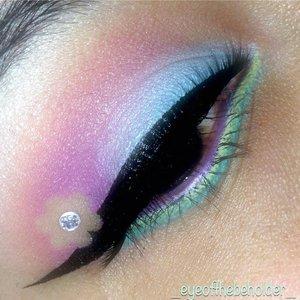 pastel summer eye!