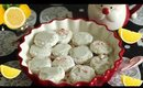Peppermint Lemon Shortbread Holiday Cookies - Holly Jolly Christmas Collab