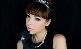 Audrey Hepburn inspired make up