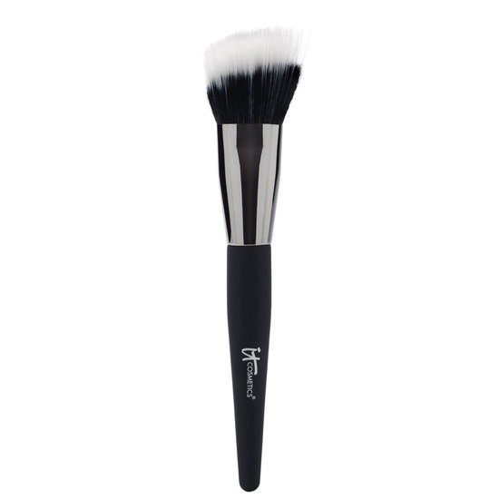 IT Cosmetics  Angled Radiance Crème Brush product smear.