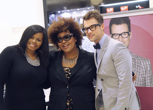 Tia Dantzler is one of my favorite MUA's! And Brad Goreski is adorable :D
