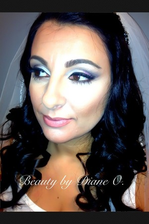 Makeup done by me on this beautiful bride..enjoy 👍