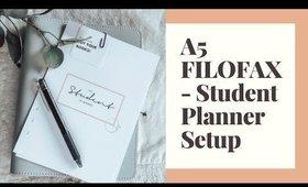 ♡A5 FILOFAX - STUDENT PLANNING