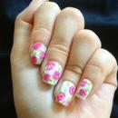 Floral nail art!