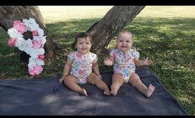 Twin Girls Update: 9 & 10 month | ChitChat