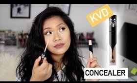 Kat Von D Lock-It Concealer Creme First Impression | makeupbyritz