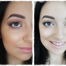 Neutral shimmery make up