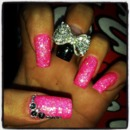 Funky Bling Nails by Alisha