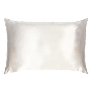 Queen/Standard Silk Pillowcase White