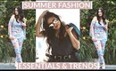 Summer Fashion Essentials & Trends YOU NEED
