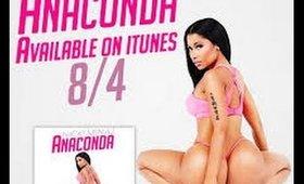 Nicki Minaj Anaconda Official Makeup Video