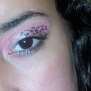 Pink Cheetah Eye