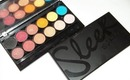 Sleek i-Divine Eyeshadow Palette Collection.