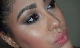 """Maybelline """"The Nudes"""" Brown Smoky Eye makeup tutorial (Drugstore makeup)"""