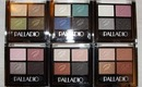 NEW Palladio Herbal Eyeshadow Quads Swatches & Review