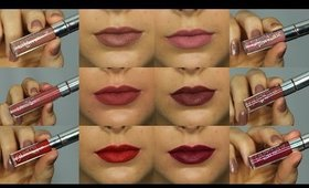 ColourPop Ultra Matte Liquid Lipsticks First Impressions Review & Swatches ♥