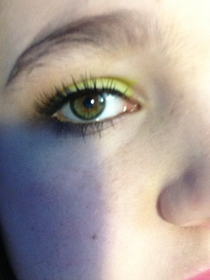 Nyx is the best brand of cheap makeup love the jumbo eye pencils!!!! I used cucumber and   Iced mocha!!!!