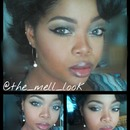 reverse Smokey eye femme couture pigments and the balm nudeitude pallet