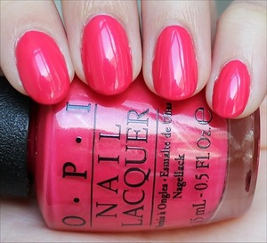 From the Couture de Minnie Collection. Click here for my in-depth review and more swatches! http://www.swatchandlearn.com/opi-a-definite-moust-have-swatches-review/