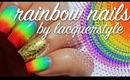 Rainbow Nails Tutorial | lacquerstyle