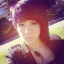 When I had purple hair