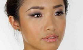 BROWN SMOKEY MAKE-UP FOR ASIAN OR HOODED EYES