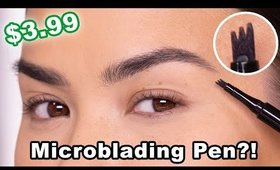 MICROBLADING EYEBROW PEN REVIEW | Maryam Maquillage