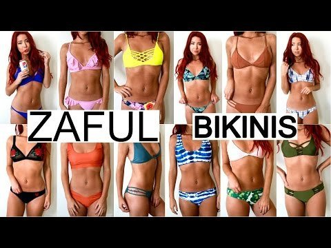 0e9ae87bc8 CHEAP BIKINI TRY ON HAUL  Zaful Review 2017