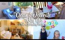 Clean & Decorate With Me - 7th Birthday Party