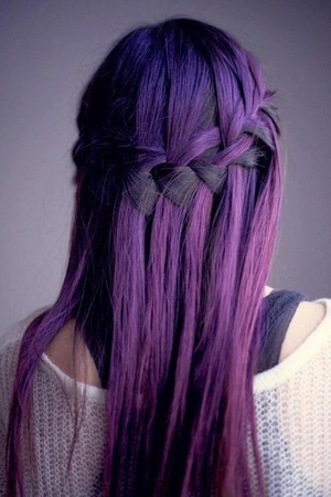 my new purple hair that i have been wanting for ages