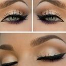 Beautiful nude eye make-up