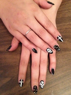 Nails with some edge