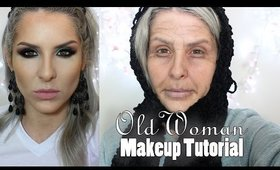 Old Woman Makeup Tutorial para Halloween por Claudia Guillen