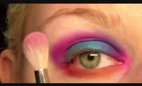 Rainbow Eyes Makeup Tutorial