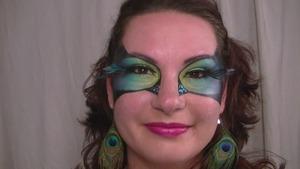 Peacock Masquerade-a Tribute to Cora (vintageortacky)