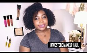 Drugstore Makeup Haul 2017 | Jessica Chanell